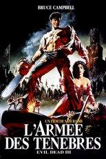 """Affiche du film """"Evil Dead III : L'Armée des ténèbres"""""""