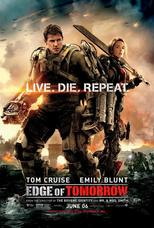 "Affiche du film ""Edge of Tomorrow"""