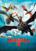 "Affiche du film ""Dragons 2"""
