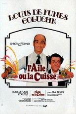 """Affiche du film """"L'Aile ou la Cuisse"""""""