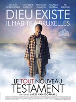"""Affiche du film """"Le tout nouveau testament"""""""