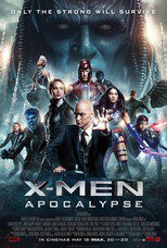 "Affiche du film ""X-Men : Apocalypse"""