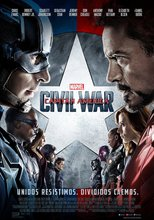 "Affiche du film ""Captain America - Civil War"""
