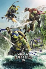 "Affiche du film ""Ninja Turtles 2"""