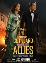 "Affiche du film ""Alliés"""