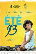 """Affiche du film """"Été 93"""""""
