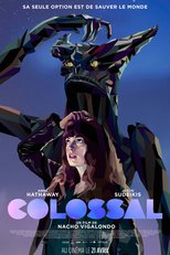 "Affiche du film ""Colossal"""