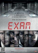 "Affiche du film ""Exam"""