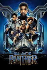 "Affiche du film ""Black Panther"""
