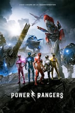 "Affiche du film ""Power Rangers"""