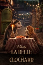 "Affiche du film ""La Belle et le Clochard"""