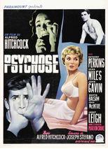 "Affiche du film ""Psychose"""
