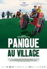 """Affiche du film """"Panique au village"""""""