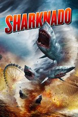 "Affiche du film ""Sharknado"""