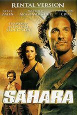 "Affiche du film ""Sahara"""
