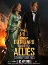 """Affiche du film """"Alliés"""""""