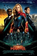 "Affiche du film ""Captain Marvel"""